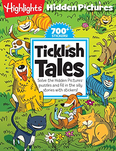 9781629793290: Ticklish Tales: Solve the Hidden Pictures® puzzles and fill in the silly stories with stickers! (Highlights(TM) Hidden Pictures® Silly Sticker Stories(TM))