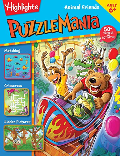 Animal Friends (HighlightsTM Puzzlemania Activity Books)