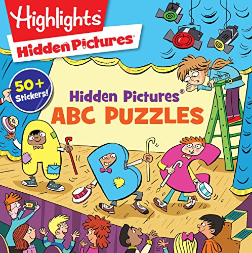 9781629797816: Hidden Pictures® ABC Puzzles (Highlights™ Puzzle Activity Fun)
