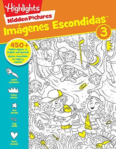Hidden Pictures® Imágenes Escondidas(TM) 3 (HighlightsTM Bilingüe)