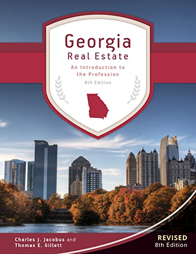 9781629800080: Georgia Real Estate - An Introduction to the Profession, 8th Edition by Thomas E. Gillett (2015-05-04)