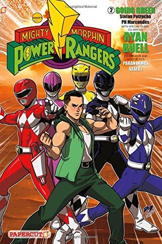 Mighty Morphin Power Rangers #2: Going Green: Stefan Petrucha