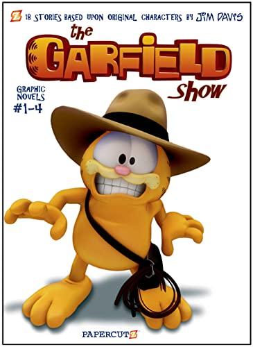 The Garfield Show Boxed Set: Vol. #1-4: Davis, Jim; Michiels, Cedric