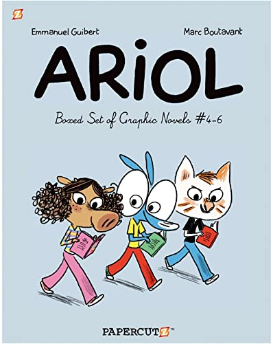 9781629912042: Ariol Graphic Novels Boxed Set: Vol. #4-6