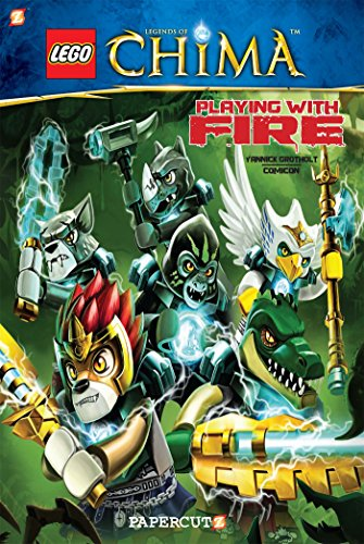 9781629914572: LEGO Legends of Chima #6: Playing With Fire!