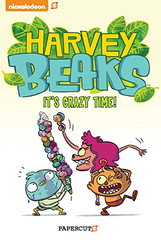 9781629914688: Harvey Beaks #2: 'It's Crazy Time'