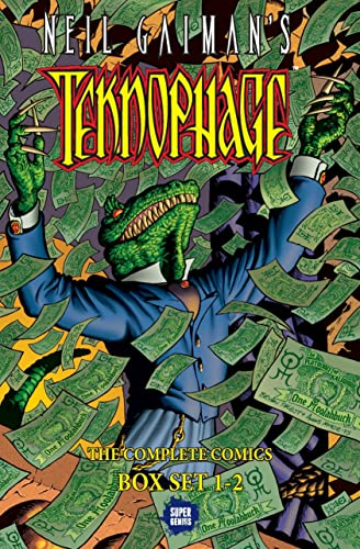 9781629916491: Neil Gaiman's Teknophage Boxed Set: Vols. 1-2