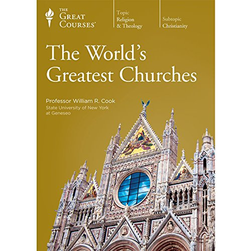 9781629971001: The Great Courses: The World's Greatest Churches