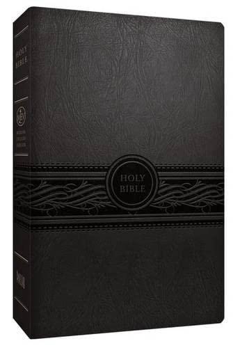 MEV Bible Personal Size Large Print Charcoal: Modern English Version: Passio