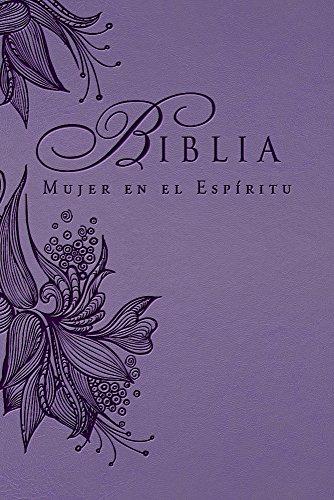 Biblia Mujer en el Espíritu (Lavanda): Reina-Valera 1960 (Spanish Edition): Casa Creación