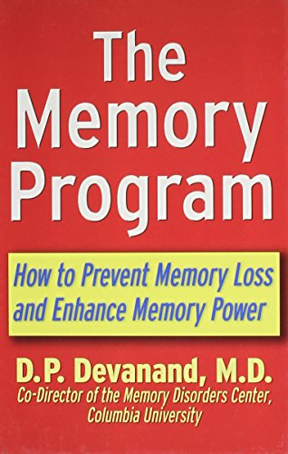 9781630262167: The Memory Program: How to Prevent Memory Loss and Enhance Memory Power