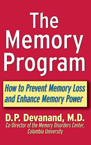 9781630262167: The Memory Program: How to Prevent Memory Loss and Enhance Memory Power
