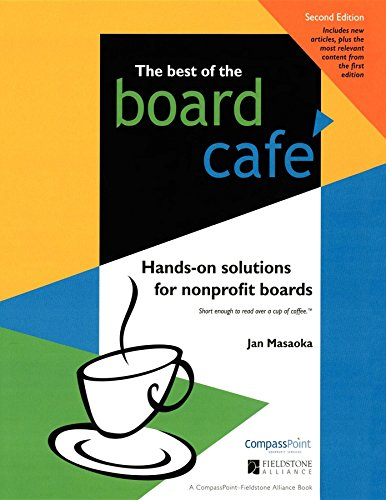 9781630262839: Best of the Board Café: Hands-On Solutions for Nonprofit Boards