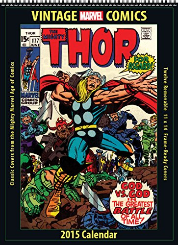 Marvel Comics 2015 Vintage Calendar: Asgard Press