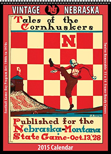 Nebraska Cornhuskers 2015 Vintage Football Calendar: Asgard Press