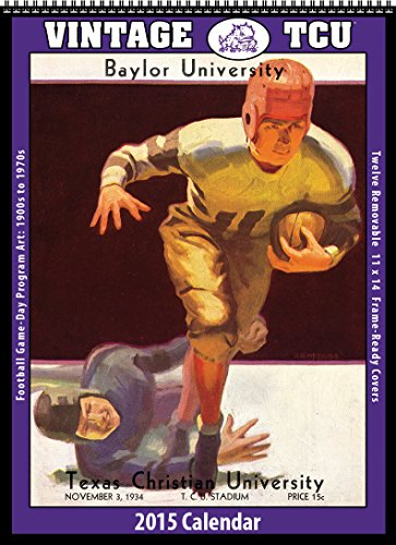 TCU Horned Frogs 2015 Vintage Football Calendar: Asgard Press