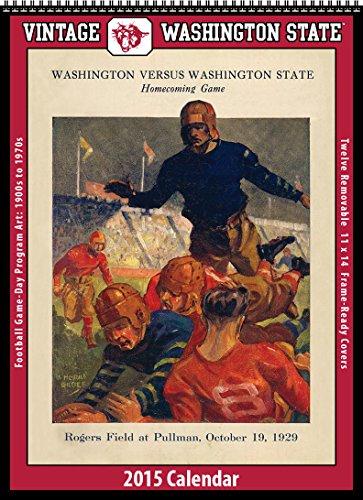 9781630360818: Washington State Cougars 2015 Vintage Football Calendar
