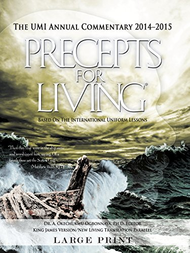 9781630381844: Precepts For Living 2014-2015 Commentary Large Print Edition