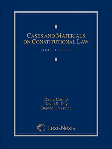 9781630430566: Cases and Materials on Constitutional Law (2014)