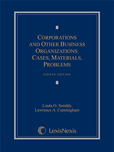 9781630430603: Corporations and Other Business Organizations: Cases, Materials, Problems (2014)