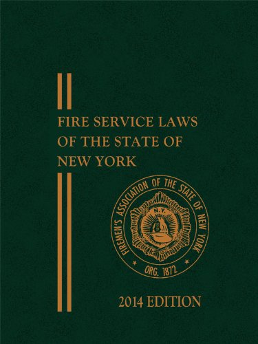 9781630433871: FASNY Fire Service Laws of the State of New York with CD-ROM (Non-Members 2014 Edition)