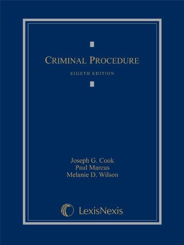 9781630435318: Criminal Procedure (2014)