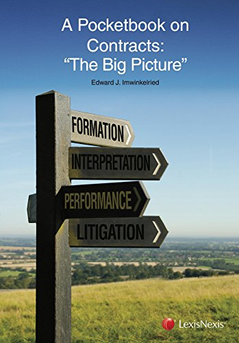 9781630435417: A Pocketbook on Contracts: The Big Picture