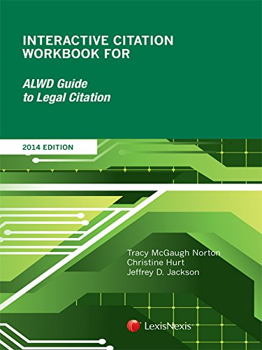9781630435936: Interactive Citation Workbook for ALWD Citation Manual (2014)