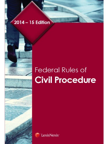 Federal Rules of Civil Procedure: Publisher's Editorial Staff