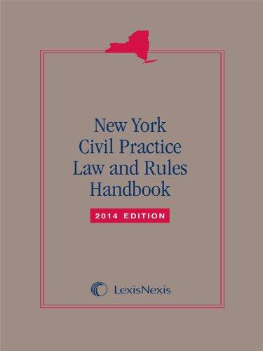 9781630443054: New York Civil Practice Laws & Rules Handbook (2014 Softbound Edition)