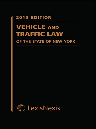 9781630449377: Vehicle and Traffic Law of the State of New York (2015 Softcover Edition) (Vehicle and Traffic Law of New York)