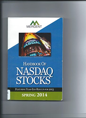 9781630530716: Handbook of Nasdaq Stocks - Spring Edition