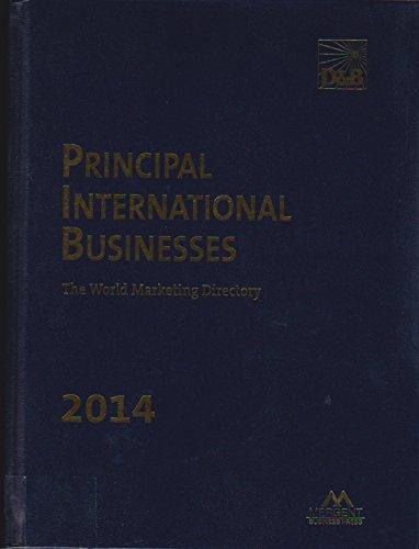 9781630530761: Principal International Businesses Directory