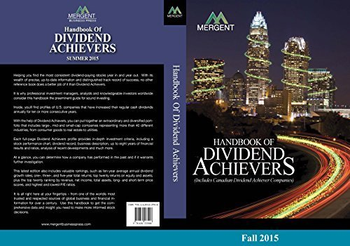 9781630533885: Handbook of Dividend Achievers: Fall Edition
