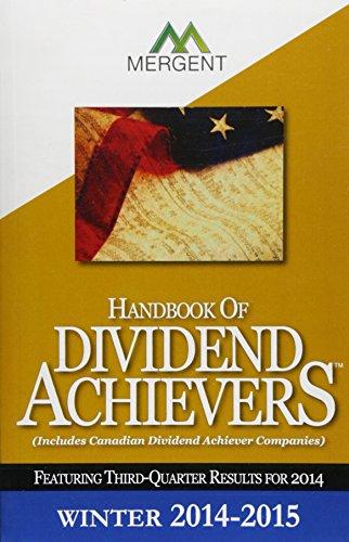 9781630533915: Handbook of Dividend Achievers - Winter Edition
