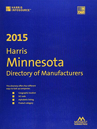 9781630534431: Harris Minnesota Directory of Manufacturers 2015