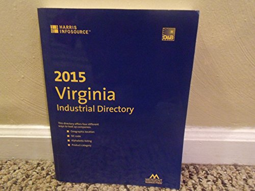 9781630534752: Harris Virginia Industrial Directory 2015