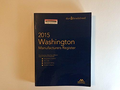 9781630534776: Washington Manufacturers Register 2015 (Washington Manufacturers Directory)