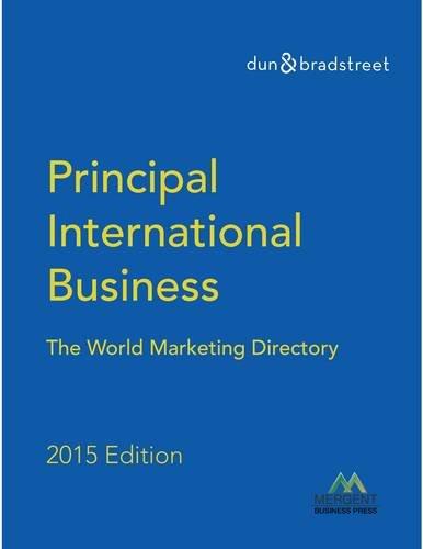 9781630534950: Principal International Businesses Directory