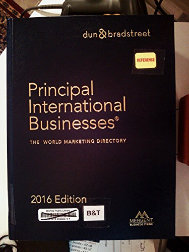 9781630539122: Principal International Businesses Directory