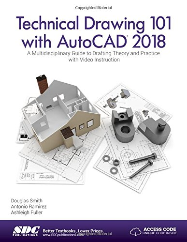 9781630570989: Technical Drawing 101 with AutoCAD 2018