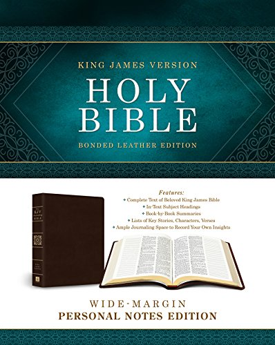 Holy Bible: Wide-Margin Personal Notes Edition: King: Barbour Publishing