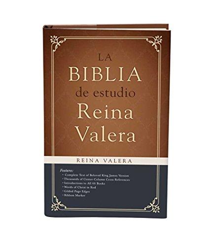 9781630583392: Biblia de estudio Reina Valera: (Spanish Edition)