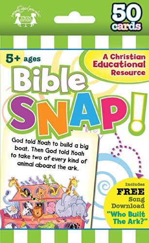 9781630587932: Bible Snap Christian 50-Count Game Cards (I'm Learning the Bible Flash Cards)
