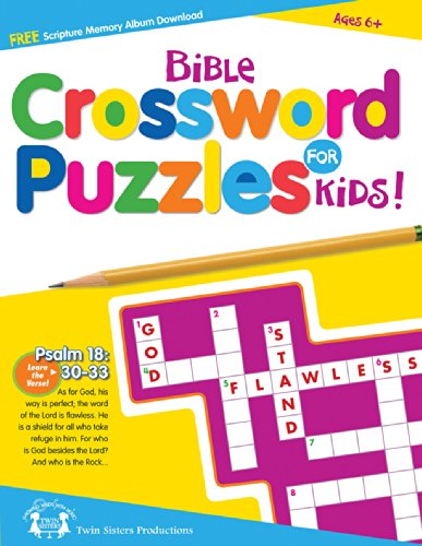 9781630588038: Bible Crossword Puzzle Book (I'm Learning the Bible Activity Book)