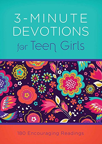 3-Minute Devotions for Teen Girls: 180 Encouraging Readings: Compiled by Barbour Staff; Frazier, ...
