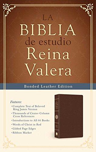 9781630588755: Biblia de estudio Reina Valera: Reina Valera Study Bible (Spanish Edition)
