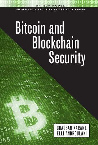 Bitcoin and Blockchain Security (Hardcover): Ghassan Karame