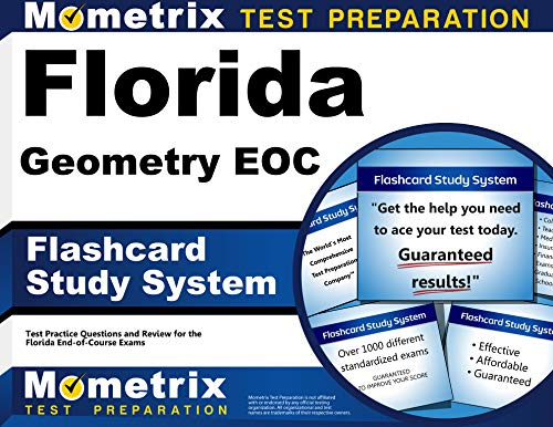 9781630940683: Florida Geometry EOC Flashcard Study System: Florida EOC Test Practice Questions & Exam Review for the Florida End-of-Course Exams (Cards)