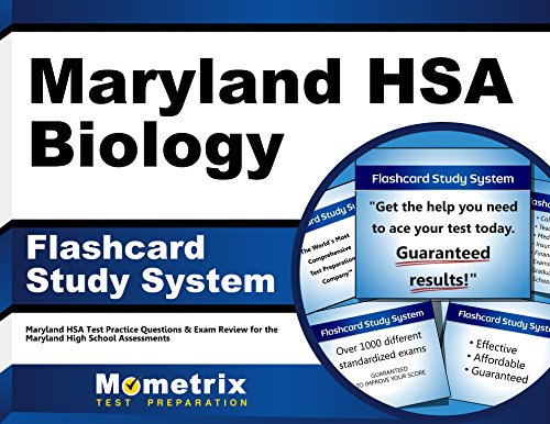 9781630941222: Maryland HSA Biology Flashcard Study System: Maryland HSA Test Practice Questions & Exam Review for the Maryland High School Assessments (Cards)